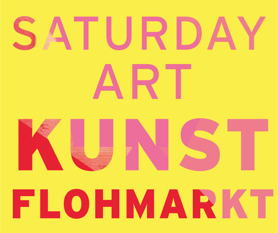Logo Saturday Art Kunst Flohmarkt